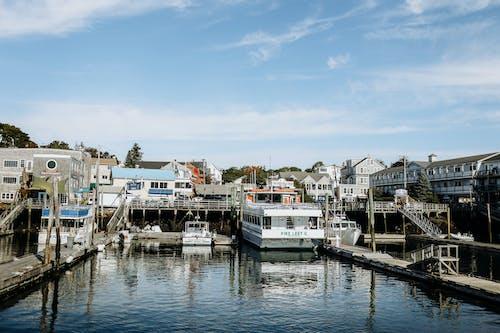 Immagine gratuita di acqua, architettura, barca