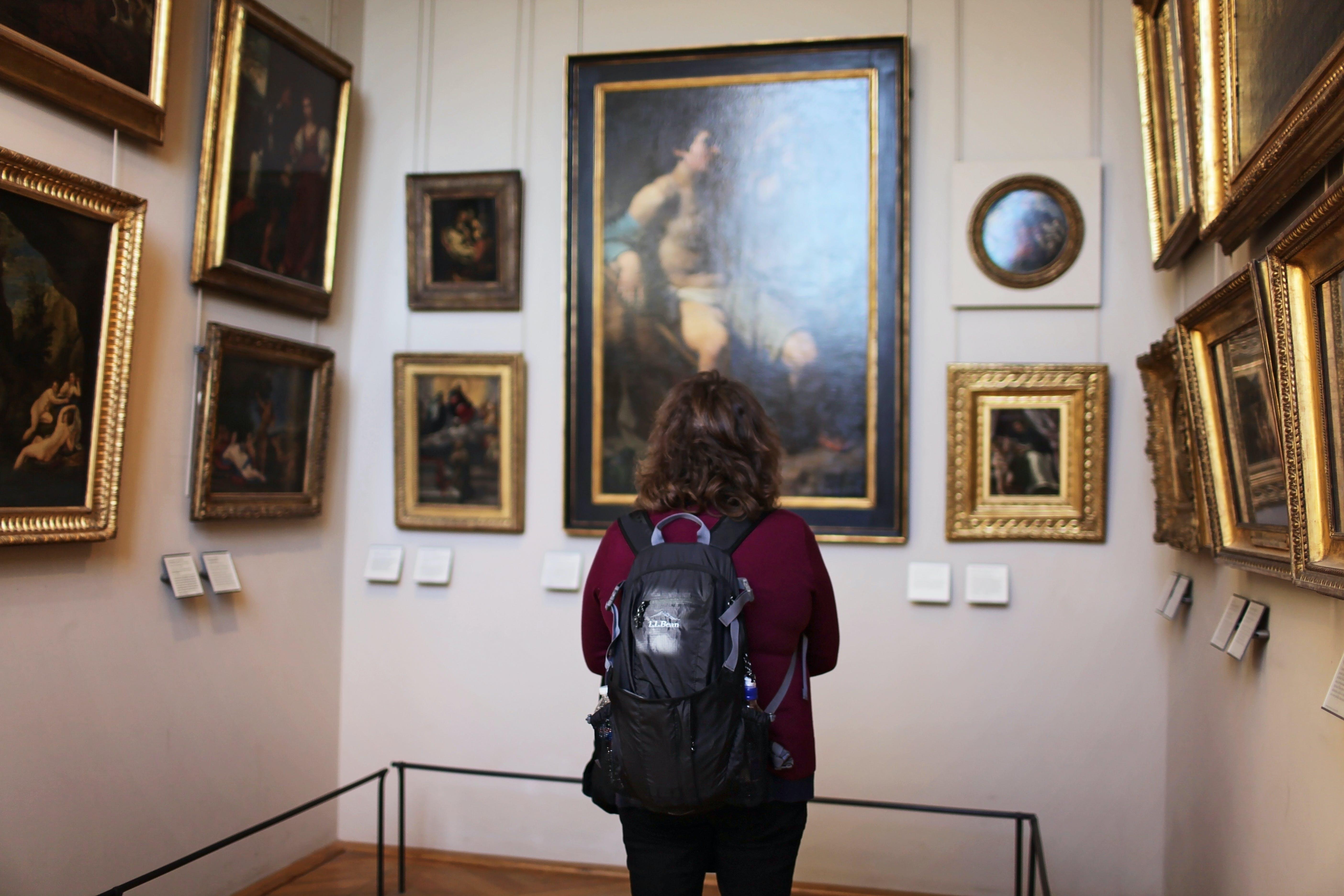 Immagine gratuita di arte, camera, dipinti, edificio