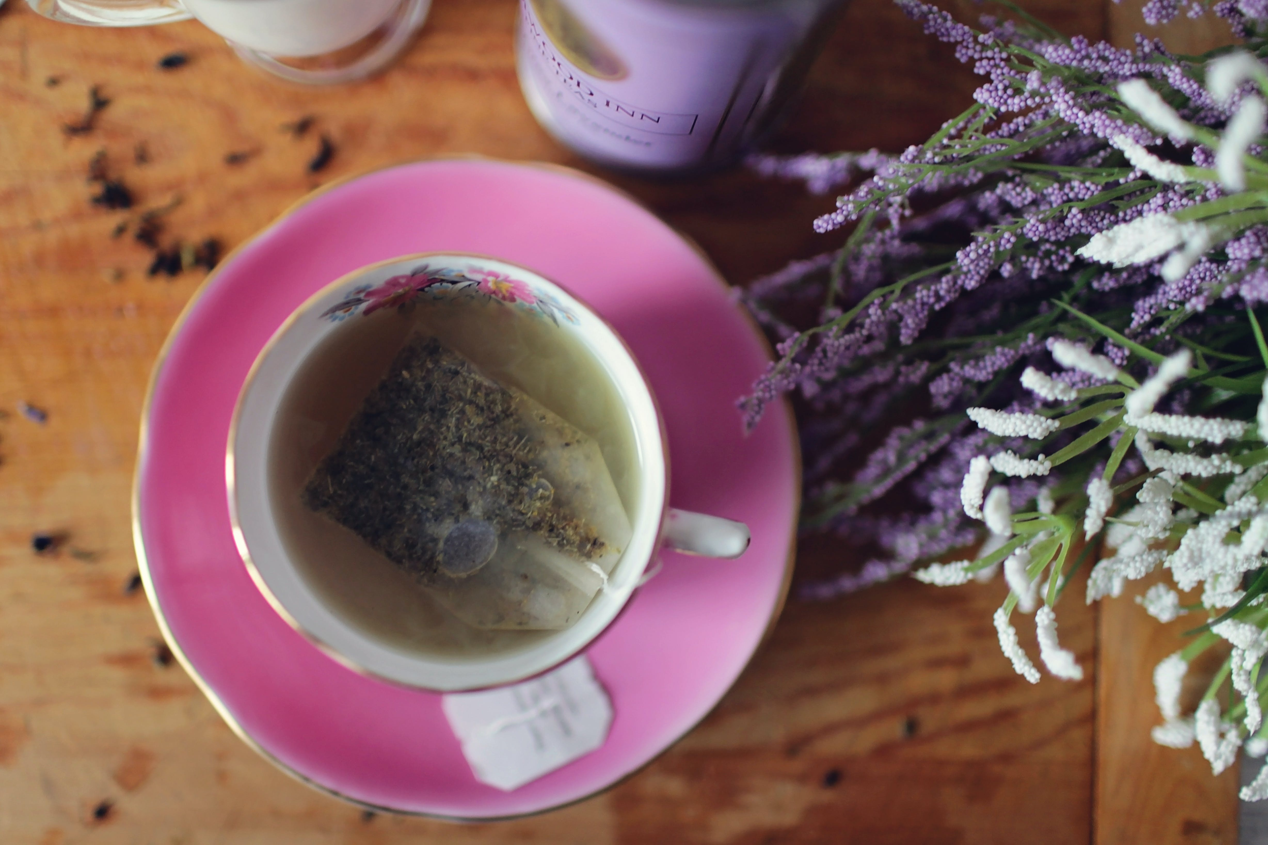 Free stock photo of relaxation, tea, calm, lavender