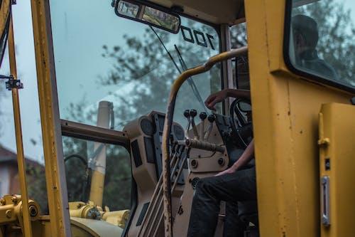 Foto d'estoc gratuïta de construcció, nivellador, retroexcavadora