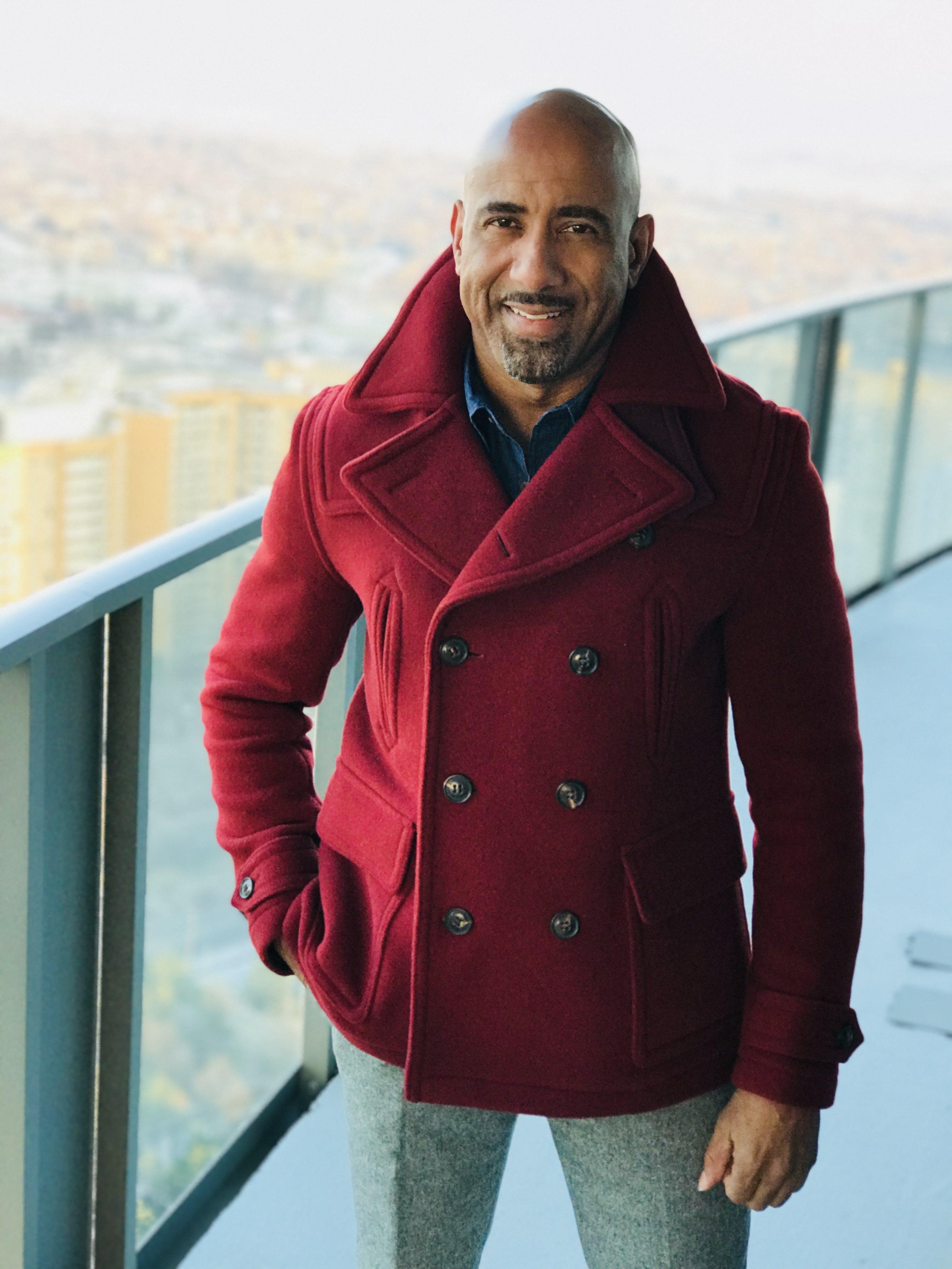 Man in Red Coat