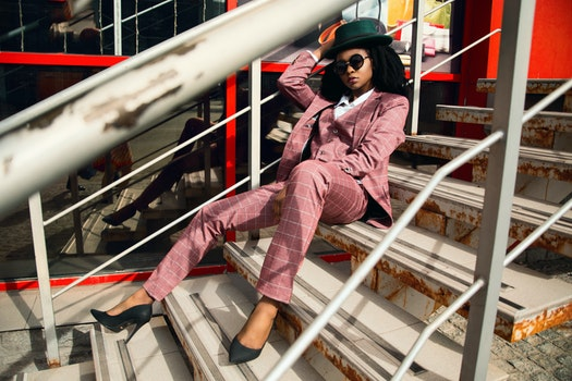 Free stock photo of stairs, suit, street, model