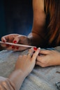 hands, ring, nails