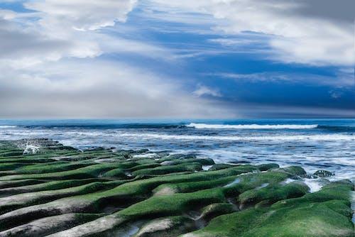 Ingyenes stockfotó felhő, hullám, óceán, rock témában
