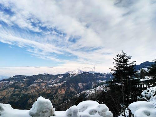 คลังภาพถ่ายฟรี ของ ภูเขาที่ปกคลุมด้วยหิมะ, หิมะ, หิมะปกคลุม