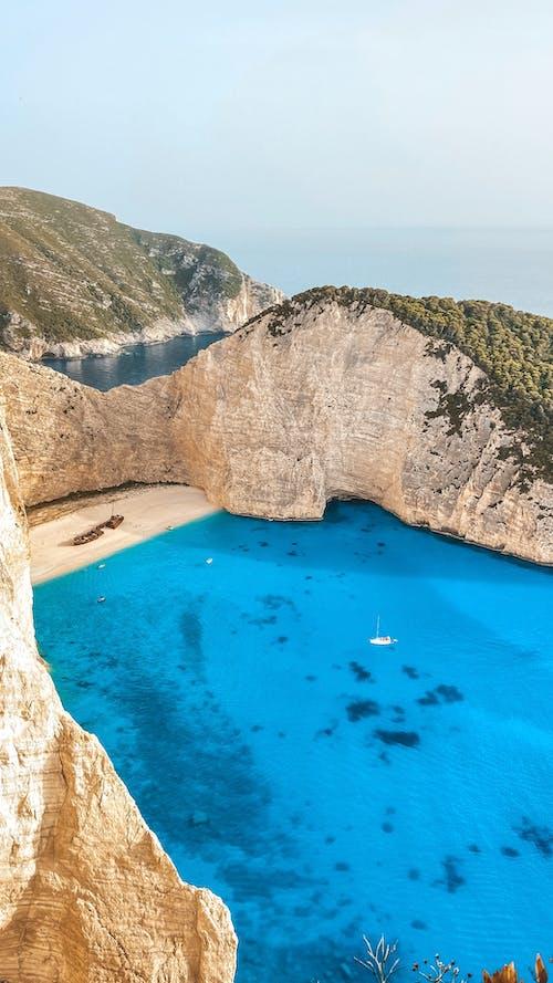 Imagine de stoc gratuită din albastru, apă, epavă