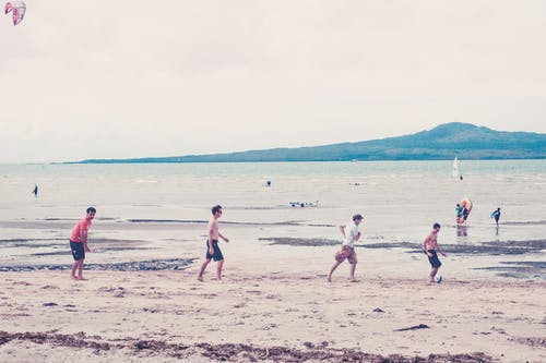 Free stock photo of beach, soccer, summer