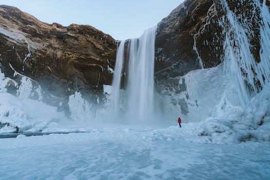 Visit Iceland during winter