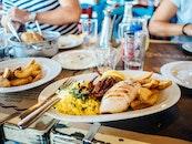 food, plate, restaurant