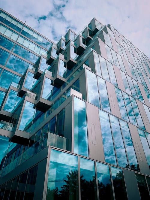 Modern Building Exterior Photography