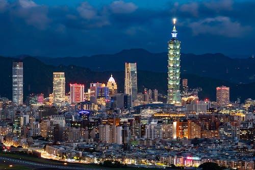 Immagine gratuita di architettura, bellissimo, city_skyline