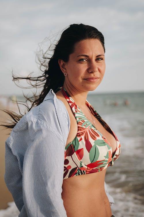 Gratis stockfoto met bikini, detailopname, haar danst