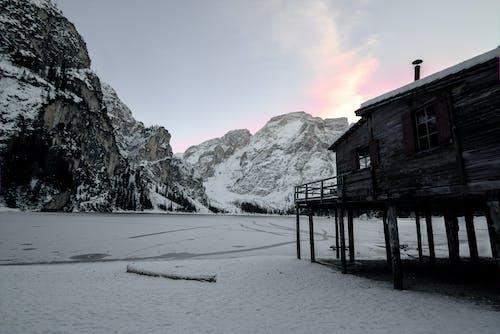 가벼운, 감기, 강, 겨울의 무료 스톡 사진