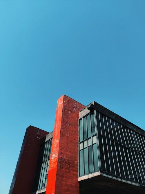 Foto profissional grátis de aço, ao ar livre, arquitetura