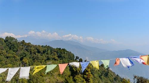 Ảnh lưu trữ miễn phí về bầu trời, chủ nghĩa tối giản, cờ, himalaya