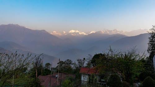 Ảnh lưu trữ miễn phí về Ấn Độ, có sương mù, himalaya, Hy Mã Lạp Sơn