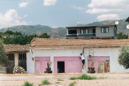 Foto stok gratis Arsitektur, atap, bangunan
