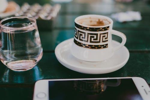 Foto stok gratis busa, cangkir, cappuccino