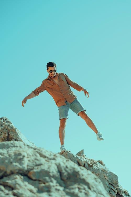 Immagine gratuita di alto, arrampicarsi, attivo