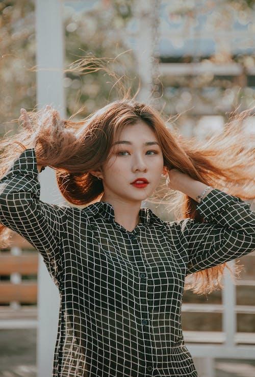 Бесплатное стоковое фото с азиатка, Азиатская девушка, азиатский, волос