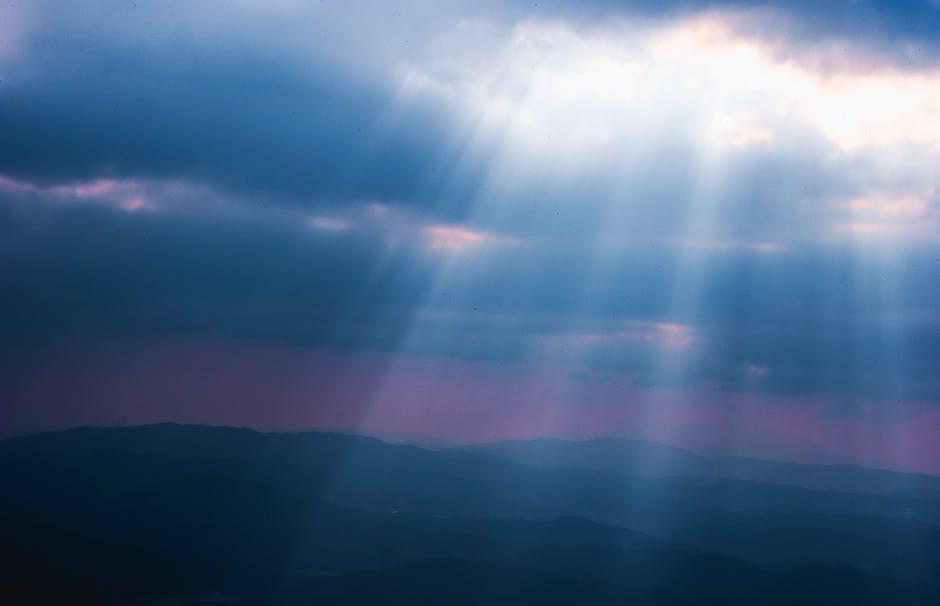 Sky reflection illustration