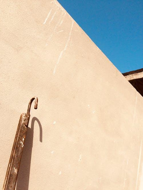 Free stock photo of blue sky, bright, cast shadow