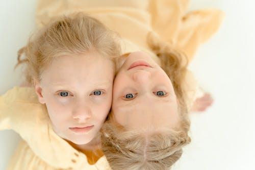 Fotobanka sbezplatnými fotkami na tému blond vlasy, bochecha gặp, byť spolu