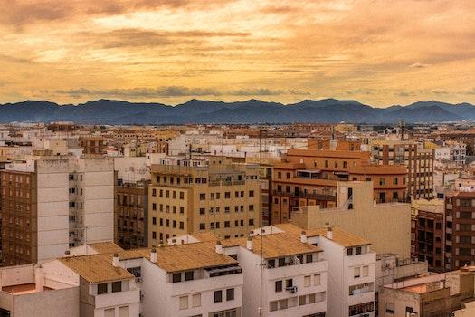 Overlooking Stone City Buildings