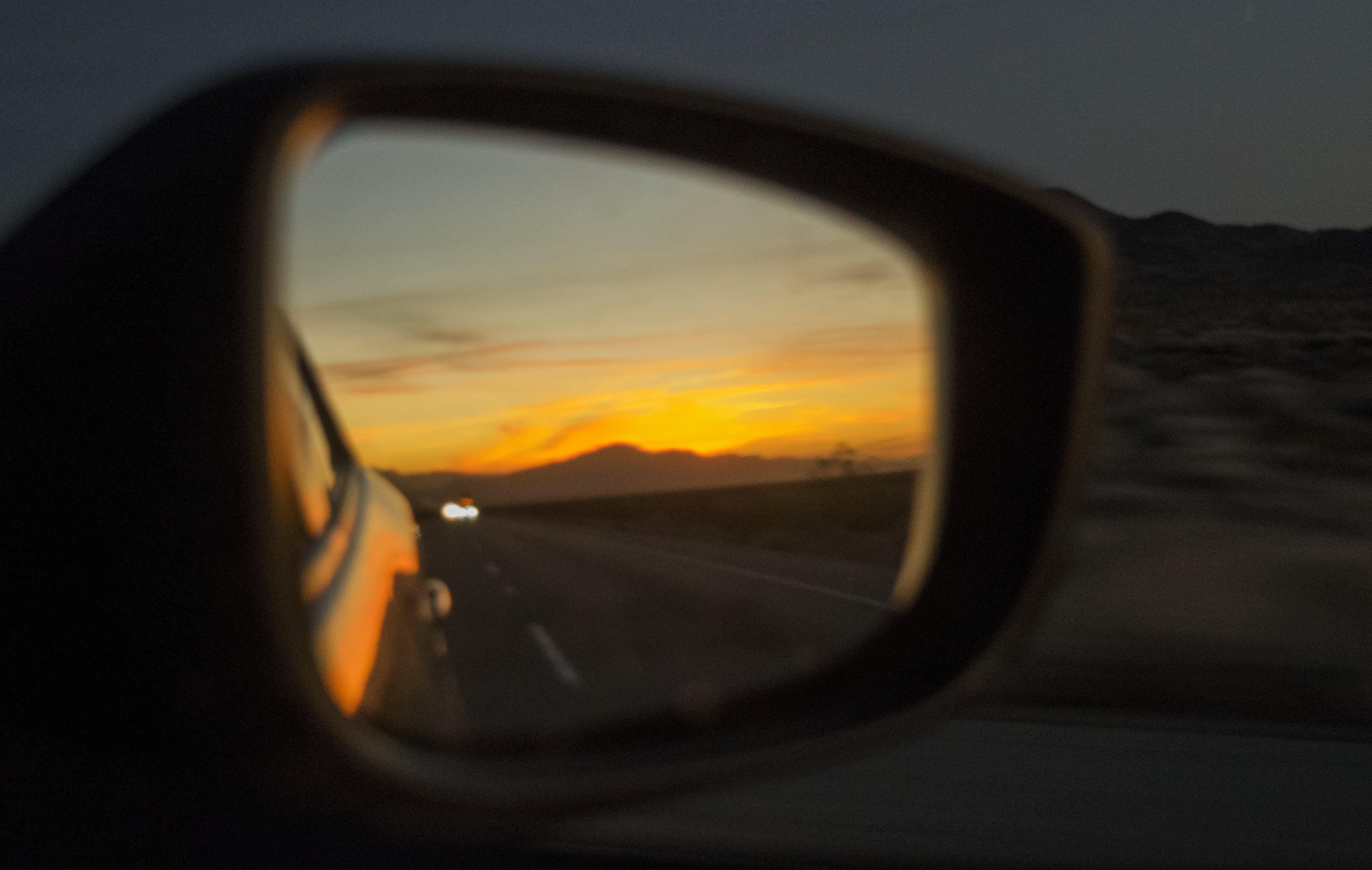 Free stock photo of beautiful, color, mirror, orange