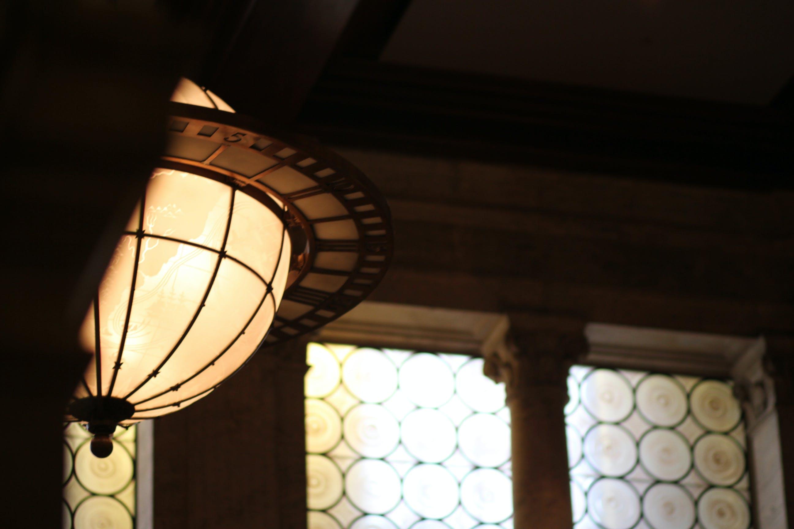 Free stock photo of light, architecture, interior, globe