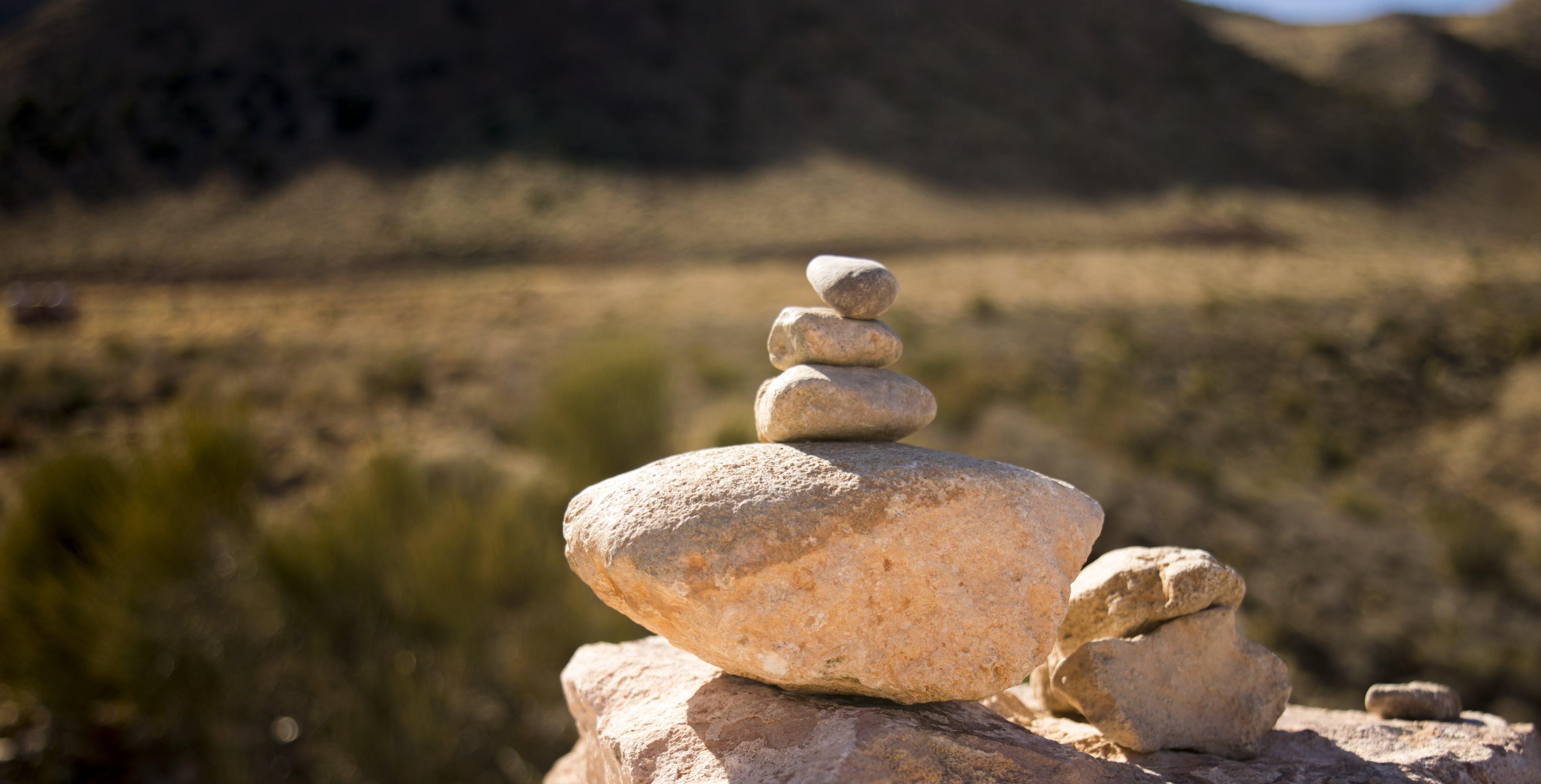 Free stock photo of peace, rock balancing, rocks, serenity