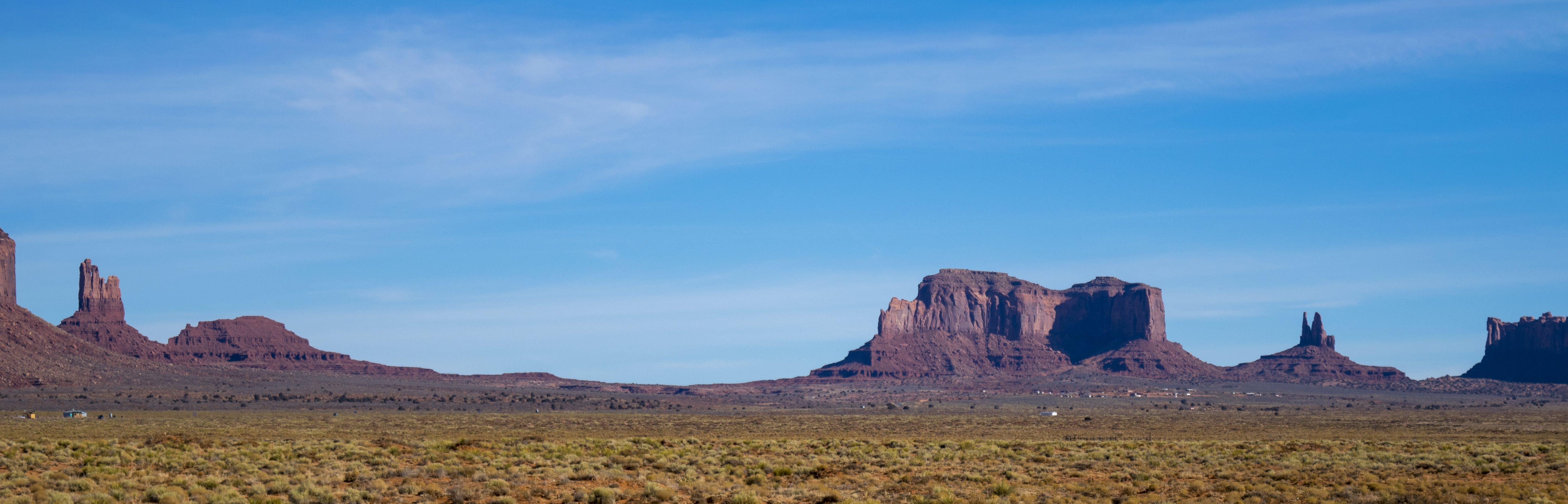 Free stock photo of blue, blue sky, desert, landmark