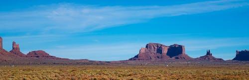 Kostenloses Stock Foto zu berge, blau, blauer himmel, himmel