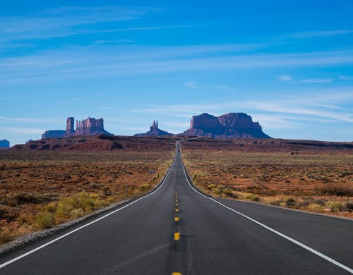 Free stock photo of blue, desert, landmark