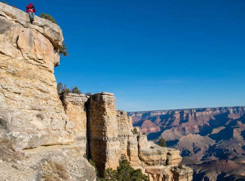 Free stock photo of blue, canyon, height