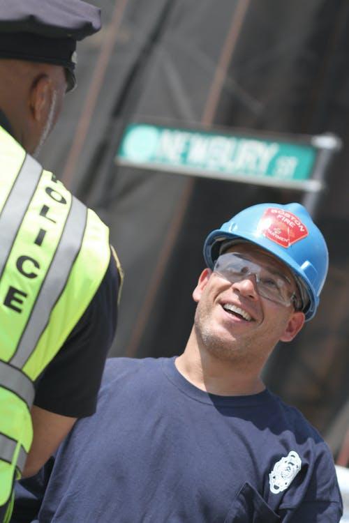工作者, 消防隊員, 社區, 警察 的 免费素材照片