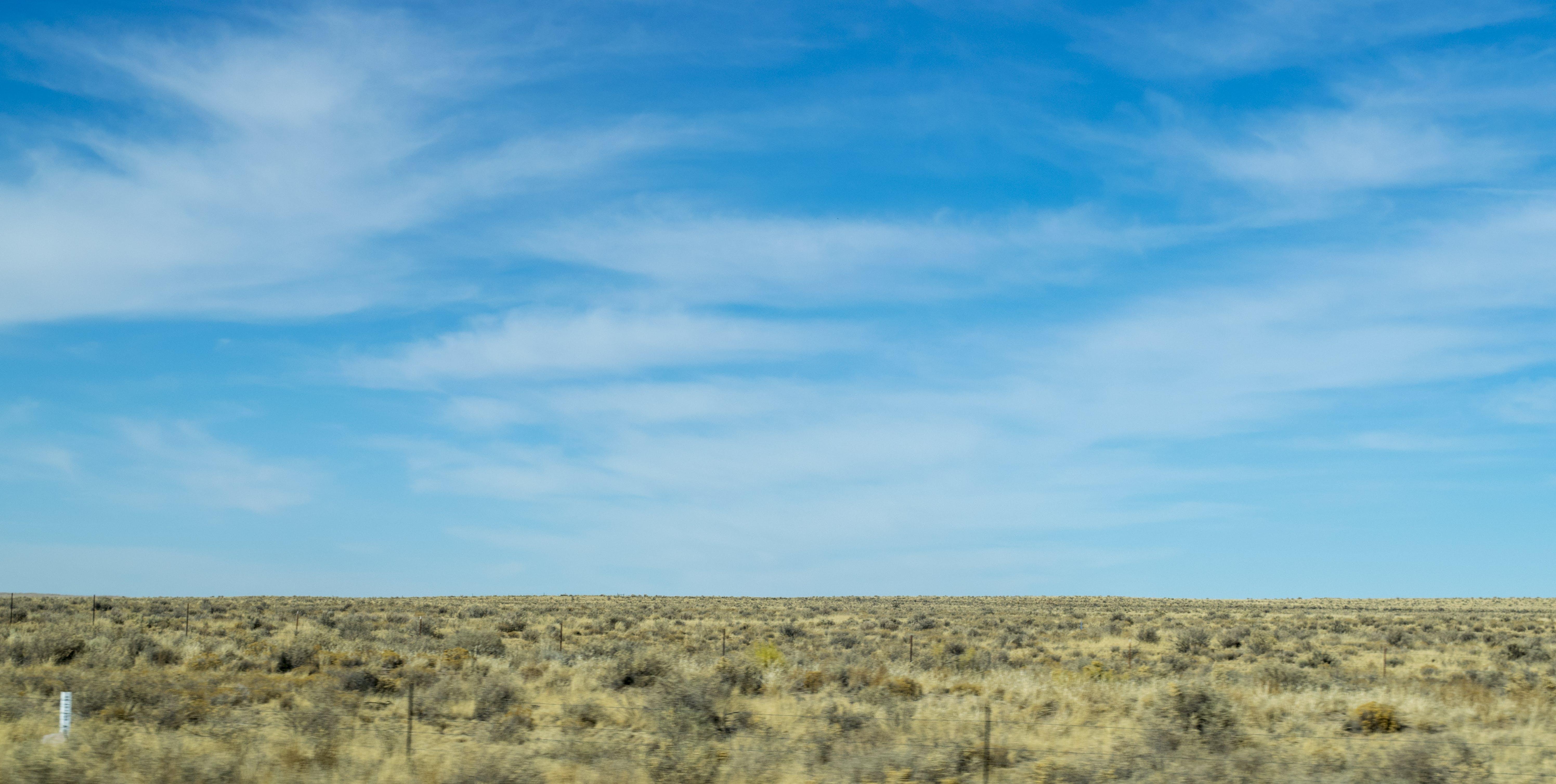 Free stock photo of blue, blue sky, clouds, desert
