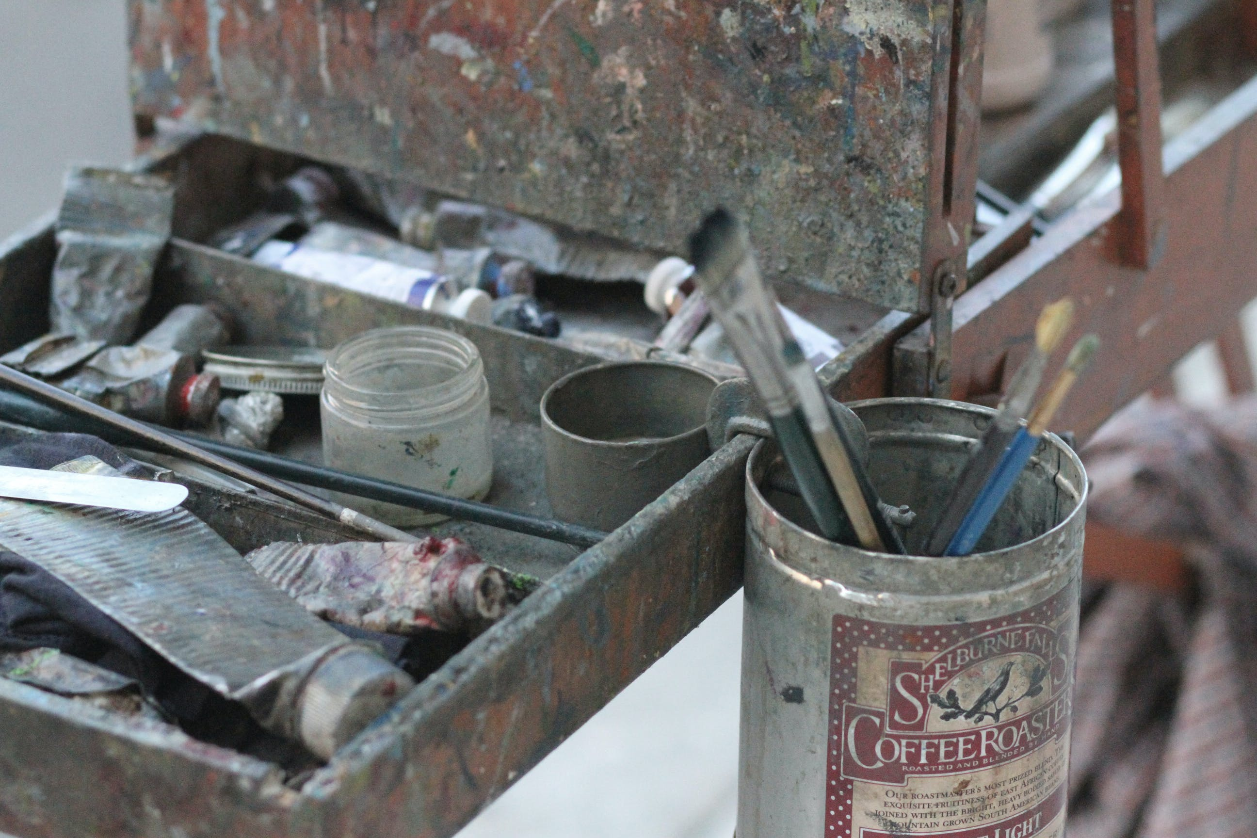 Free stock photo of artist, create, oil paints, paint