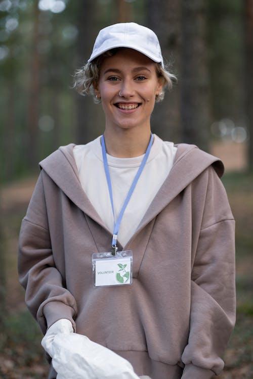 A Cheerful Volunteer