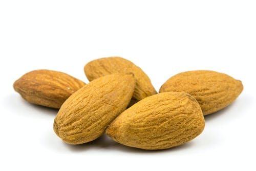 Free stock photo of almond, almonds, antioxidant, closeup