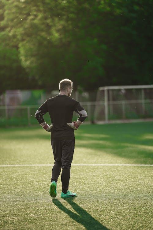 Kostenloses Stock Foto zu aktionsenergie, athlet, ball