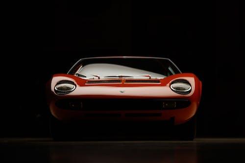 Free stock photo of aerodynamic, black background, car
