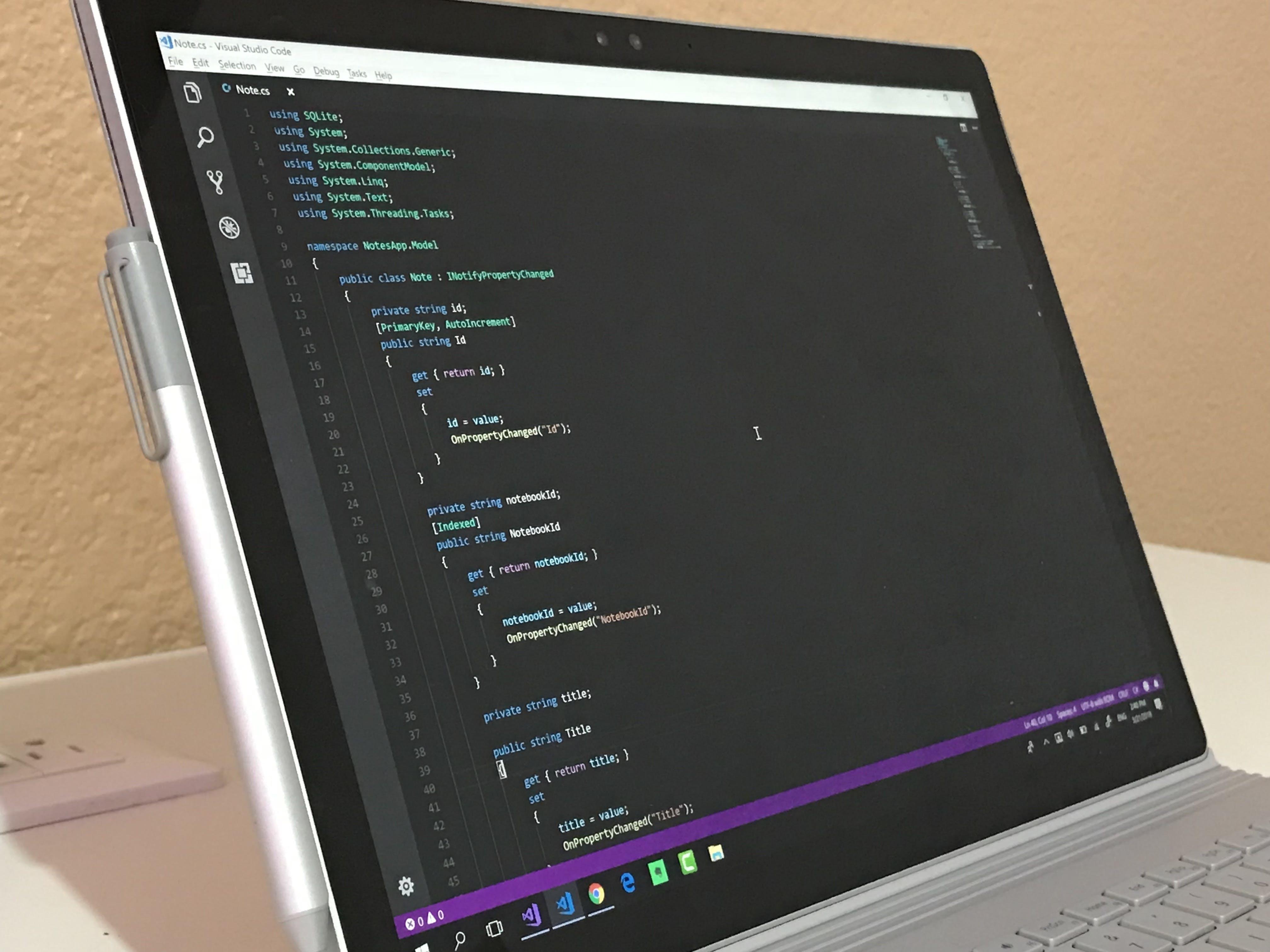 Free stock photo of code, computer, computing, microsoft