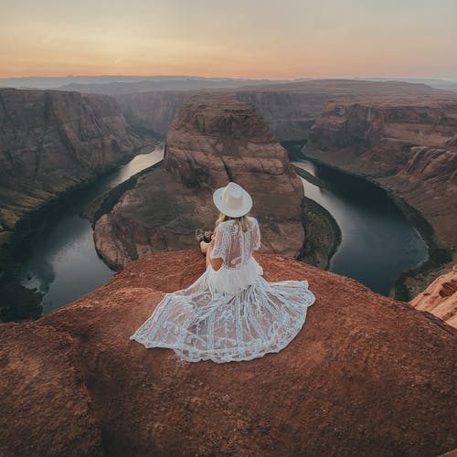 Free stock photo of admiring, beauty in nature, dress