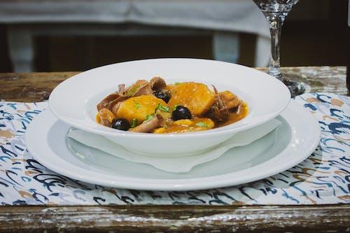 ahtapot, akşam yemeği, balık içeren Ücretsiz stok fotoğraf