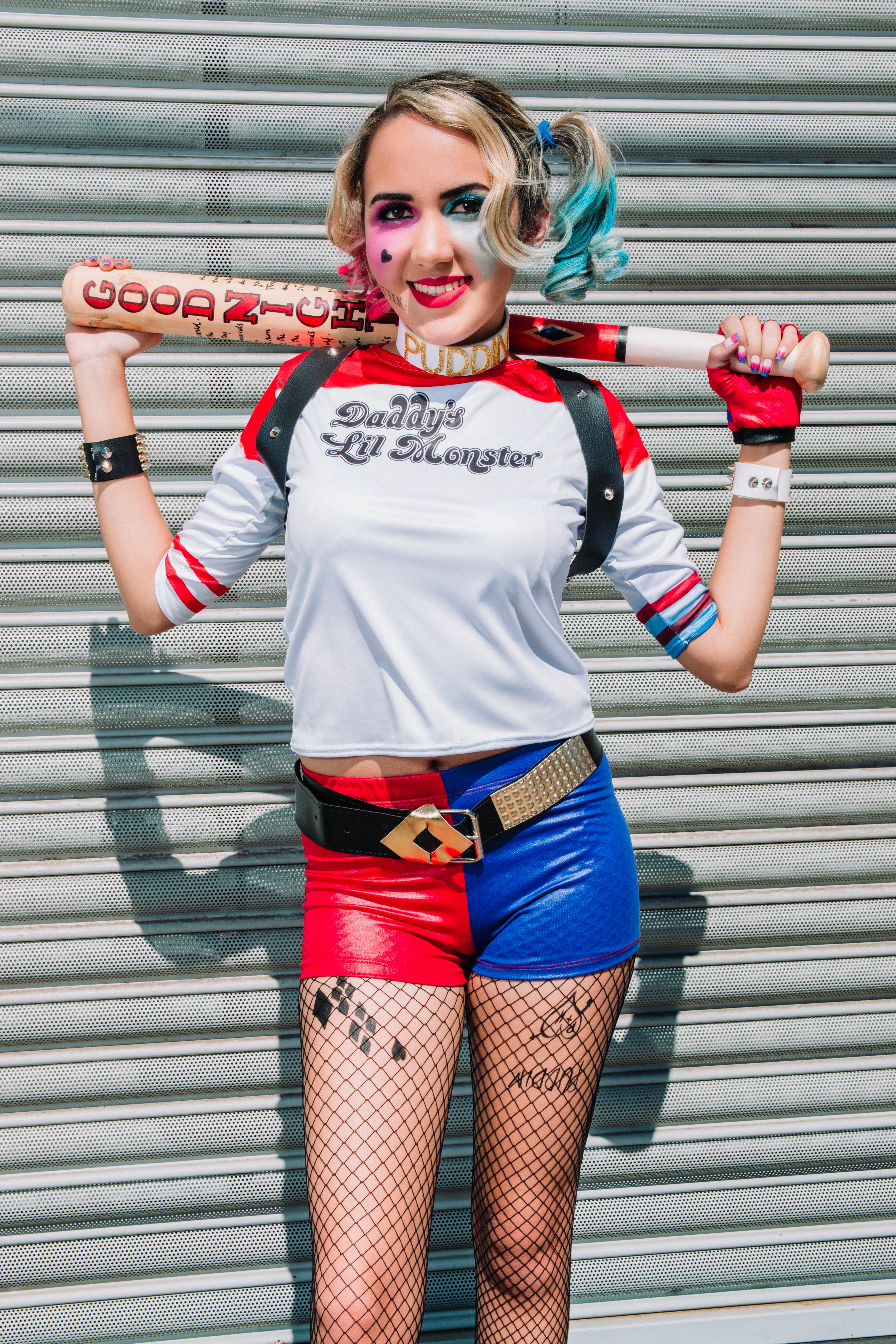 Woman Dressed Up As Suicide Squad's Harley Quinn