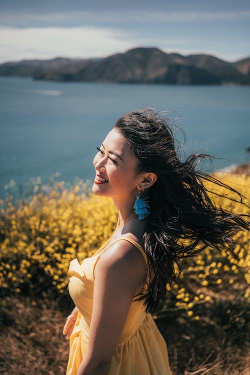 アジアの女性, アダルト, フラワーズの無料の写真素材