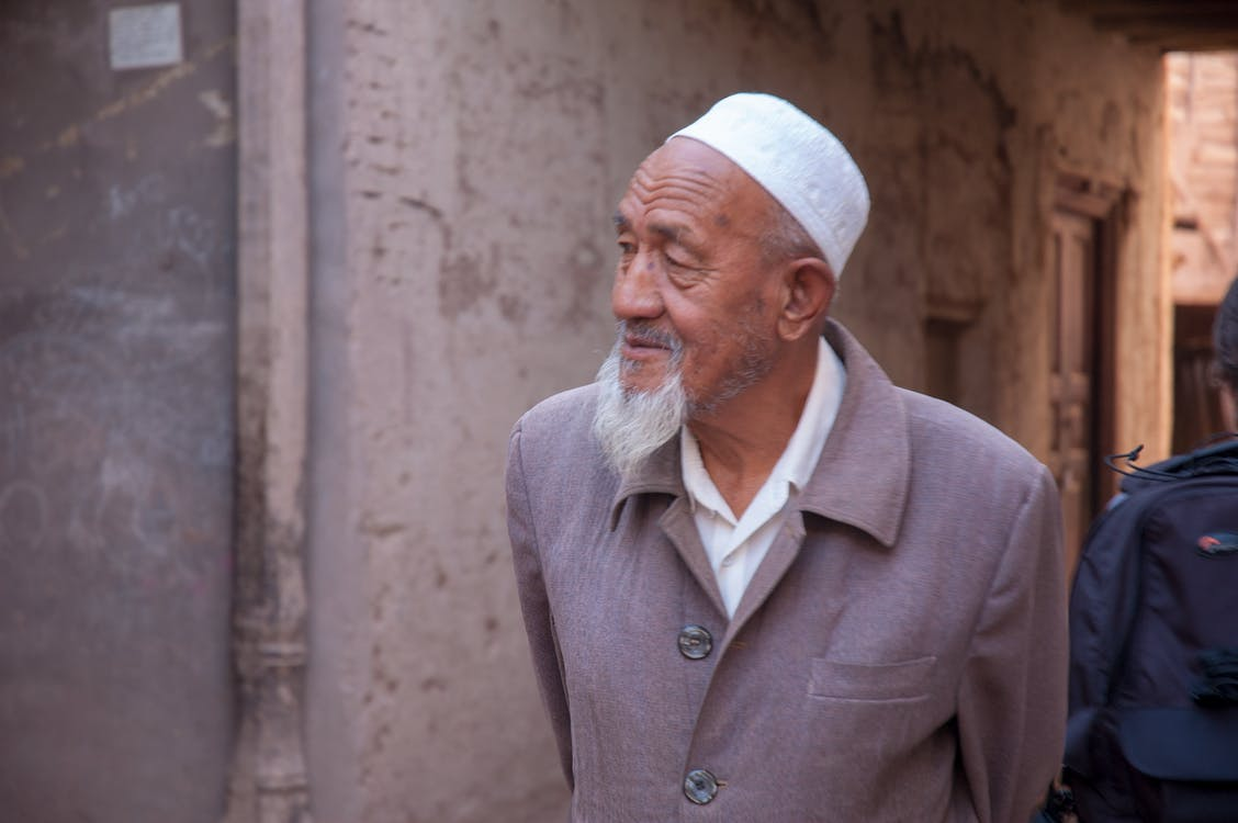 Free stock photo of china, muslim, old man