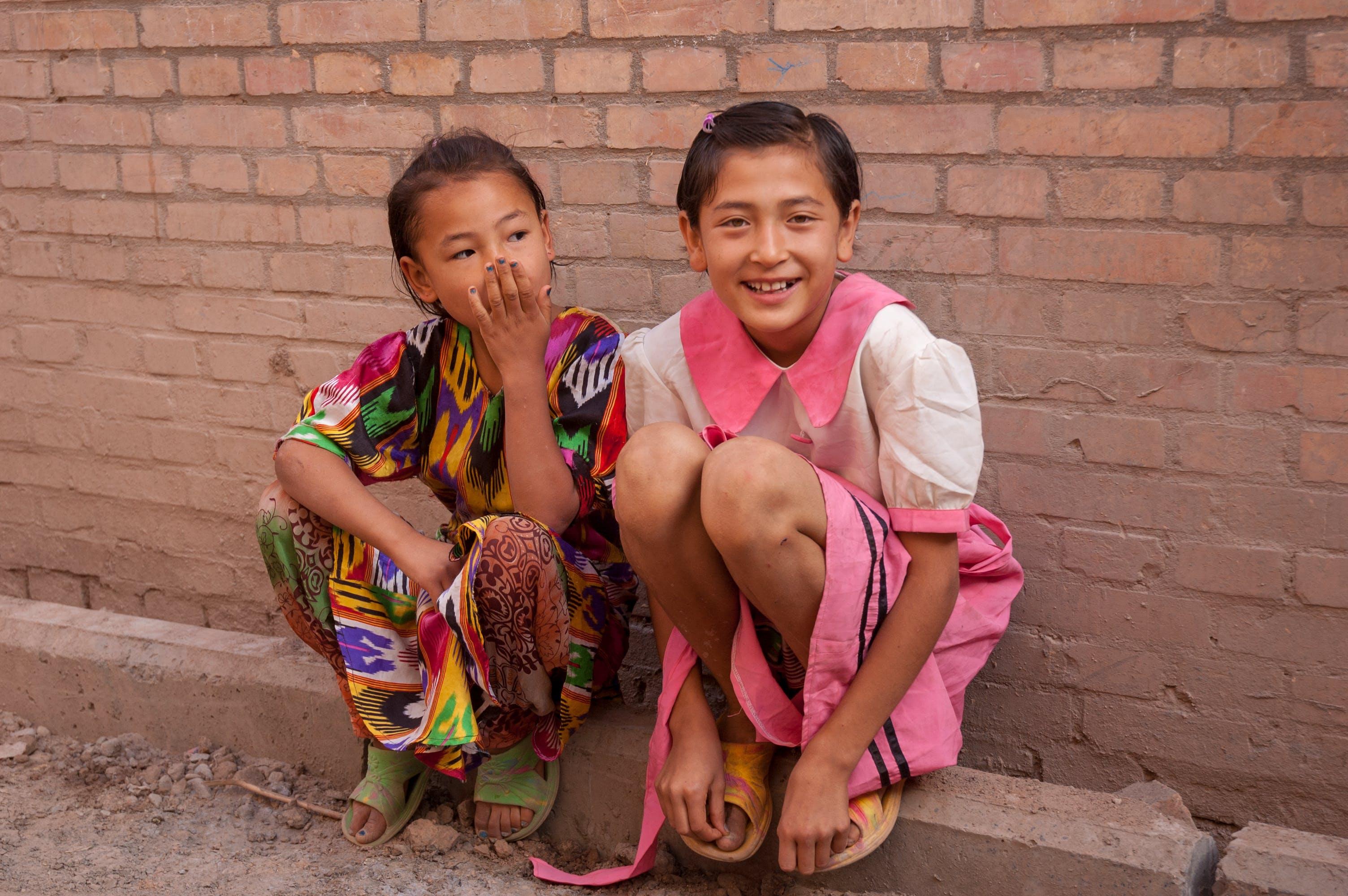 china, Muslims, smiling