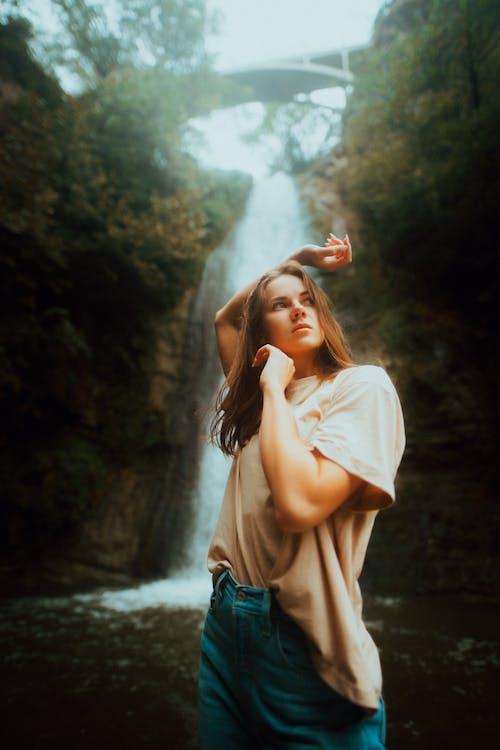 Photos gratuites de adulte, beauté dans la nature, bras levés